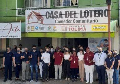 Inaugurada primera Casa del Lotero en el país, proyecto pionero de atención social que lidera la Lotería del Tolima